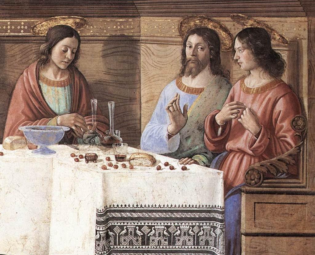 Domenico Ghirlandaio (vers 1486). Florence (Toscane, Italie); Museo di San Marco dell'Angelico (détail d'une fresque; 400×800 cm)