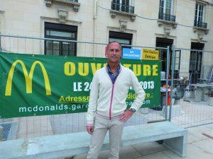 Derrière le succès de McDo à Bordeaux, il y a un homme d'affaires, qui possède à lui seul plus d'une dizaine d'etablissements
