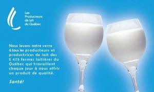 Les Québécois qui n'ont pas froid, comme on sait, utilisent sans vergogne le calice en verre pour y vendre leur lait. Qu'en pensent les Bourguignons ?